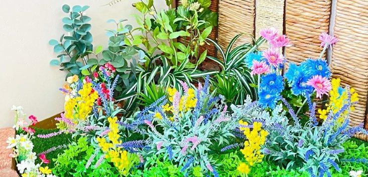 院内ディスプレイ 初夏のお庭